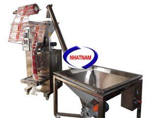 Máy đóng gói định lượng tự động 150-1000 gam (NNĐG-A28)được sử dụng rộng rãi trong lĩnh vực đóng gói các loại thực phẩm, dược phẩm. Dùng để đóng các loại: bột canh , đậu phộng , bánh snake...
