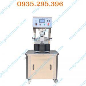 Máy đóng nắp chai thủy tinh chân không (NNDC-DA06) là sản phẩm không thể thiếu trong các doanh nghiệp