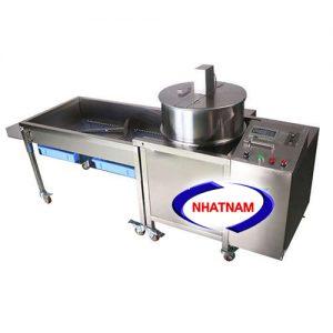 Máy làm bắp rang bơ công nghiệp bằng điện (có giá đổ) (NNBRB-09)