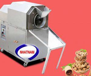 Máy rang hạt XL-100 dùng gas 50-65 kg/mẻ (NNRH-16)Máy có thể thay thế rất nhiều lao động lành nghề làm việc cùng một thời điểm, đảm bảo vệ sinh an toàn thực phẩm khi chế biến.