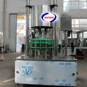 Máy xoáy nắp chai bán tự động 6 đầu (NNDC-DA03)là dòng máy siết nắp tự động, thiết bị có thể làm việc độc lập hoặc ghép nối vào hệ thống các dây chuyền chiết rót  – Rất phù hợp với những doanh nghiệp, xưởng sản xuất các loại nước đóng chai, nước giải khát hay đóng nắp các loại dung dịch hóa chất...