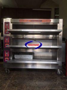 Lò nướng bánh dùng điện 3 tầng 9 khay (NNLQ-A28)chuyên dùng để nướng các loại ngọt, trung thu, bánh mì...