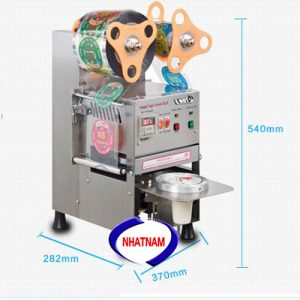 Máy dán miệng cốc tự động ET-Q9 (NNMC-05)