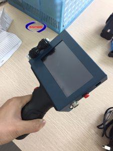 Máy in date cầm tay tự động (NNID-25)chuyên dùng để inký tự, mã barcode , mã QR code, Datamatrix,,,,Giao diện đơn giản, dễ vận hành sử dụng