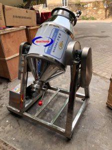 Máy trộn bột dạng trống 15kg/mẻ (inox) (NNTB-54)
