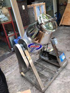 Máy trộn bột khô dạng trống 25kg/mẻ (inox) (NNTB-55)