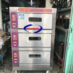Lò nướng bánh 3 tầng 6 khay SOUTHSTAR dùng điện (NNLQ-A43)