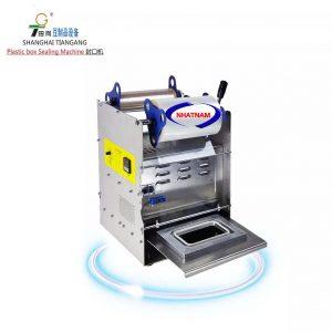 Máy dán hộp vuông thực phẩm (NNMC-12)tính năng sử dụng đơn giản và hiệu quả, thao tác vận hành nhẹ nhàng, năng suất cao.  Máy thích hợp dán miệng hộp đậu phụ, hộp đụng đồ khô , hộp thức ăn, hộp đựng thực phẩm...