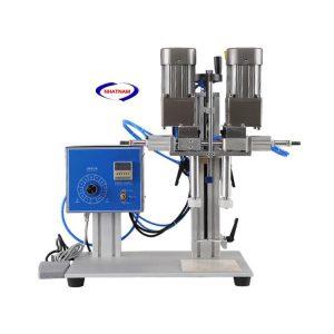 Máy đóng nắp chai đa năng (NNDC-B10)Nhắc đến máy xoáy nắp chai đa năng là một công nghệ tiên tiến mới. máy có thể áp dụng xoáy hoàn toàn tất cả các loại nắp chai như dầu gội , sữa tắm.