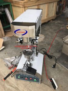 Máy viền mí lon bán tự động inox (NNDC-E05)