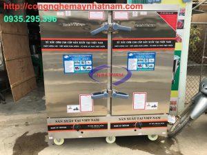 Tủ nấu cơm 24 khay dùng gas VN (NNTC-37)Tủnấu cơm chuyên dùng trong các phòng ăn khu công nghiệp, căng tin trường học, các bếp ăn tập thể, các công ty...
