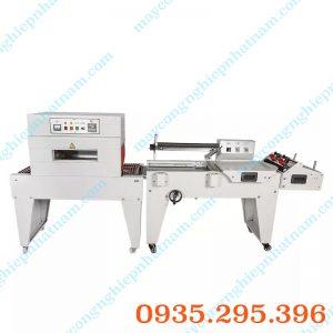 Máy co và cắt màng chân cao (NNCM-A14)  – Máy được tích hợp 2 chức năng cắt màng và co màng trong cùng một máy,