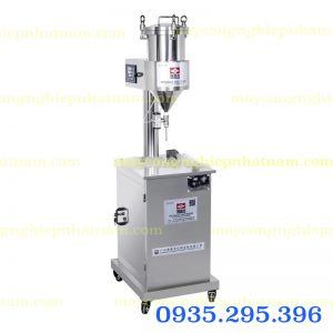 Máy chiết rót son môi bán tự động (NNDC-D28)  Máy được làm từ chất liệu Inox 304 chất lượng cao, đảm bảo vệ sinh, có tuổi thọ trên 15 năm.
