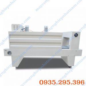 Máy co màng có hệ thống làm mát (NNCM-A12)là dòng thiết bị được tích hợp công nghệ tiên tiến nhất, khắc phục mọi hạn chế của các loại máy co màng thông thường.