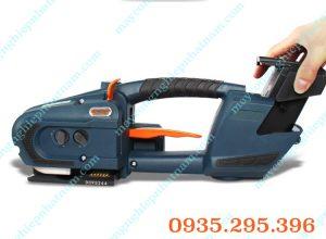 Máy đóng đai thùng dùng pin cầm tay(NNĐT-25)  Là sản phẩm không thể thiếu trong ngành thực phẩm, inấn, vận chuyển hàng hóa...