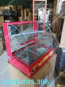 Tủ giữ nóng thức ăn 2 khay (NNTH-01)có chứcnăng giữấm và bảo quản thực phẩm sau khi chế biến,  – Đảm bảo vệ sinh vừađể trưng bày, phù hợp với các cửa hàng, hộ kinh doanh vừa và nhỏ.