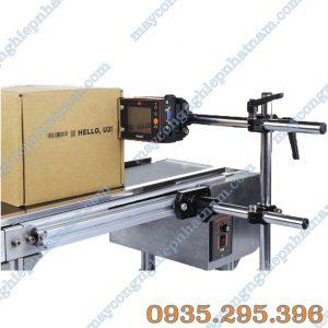 Máy in date tự động băng tải U2 (NNID-16) chuyên dùng để in date trên bề mặt sản phẩm.
