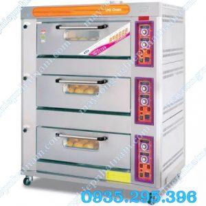 Lò nướng bánh 3 tầng dùng gas(NNLQ-30)  – Lò nướng bánh được sản xuất bằng chất liệu inox cao cấp, gia công các chi tiết tỉ mỉ, kiểu dáng sang trọng và độ bền rất cao.