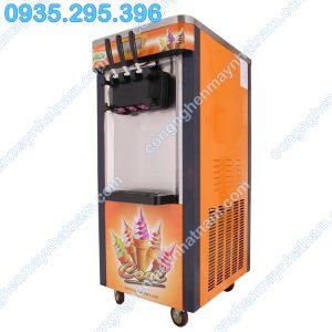 Máy làm kem tươi 3 vòi có năng suất cao, kem tươi ngon, chất lượng cao.
