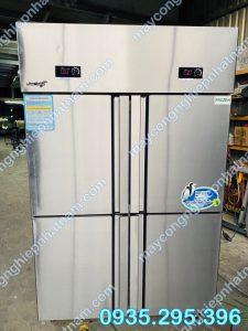 Tủ đông mát 4 cánh inox (NNTĐ-05) uy tín - chất lượng cao - bảo hành chu đáo !