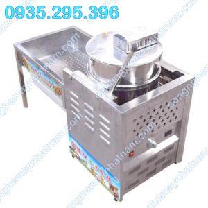 Máy làm bắp rang bơ dùng gas công nghiệp ( NNBRB - 12) uy tín - chất lượng - giá cả cạnh tranh - bảo hành chu đáo