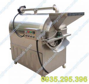 Máy rang hạt dùng điện inox LQ 20-25 kg/mẻ (NNRH-08) giá rẻ - chất lượng cao - bảo hành chu đáo !