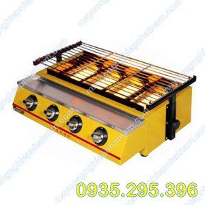 Bếp nướng gas 4 điều chỉnh (NNBN - 04) Là sản phẩm không thể thiếu trong các nhà hàng, quán ăn...