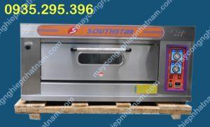 Lò nướng bánh 1 tầng 2 khay dùng gas (NNLQ - A07) Chuyên dùng để nướng bánh mì, bánh ngọt, bánh gato...