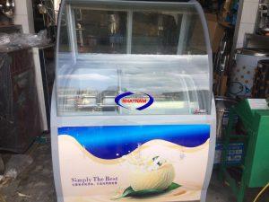 Tủ mát trữ kem ký 10 khay (NNTP-PC07)Là sản phẩm dành riêng cho cửa hàng bán kem tự chọn, trưng bày và bảo quản kem trong các quầy kem sang trọng.