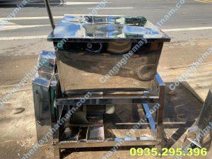 Máy trộn bột nằm ngang 50kg inox (NNTB - 59) uy tín - chất lượng !