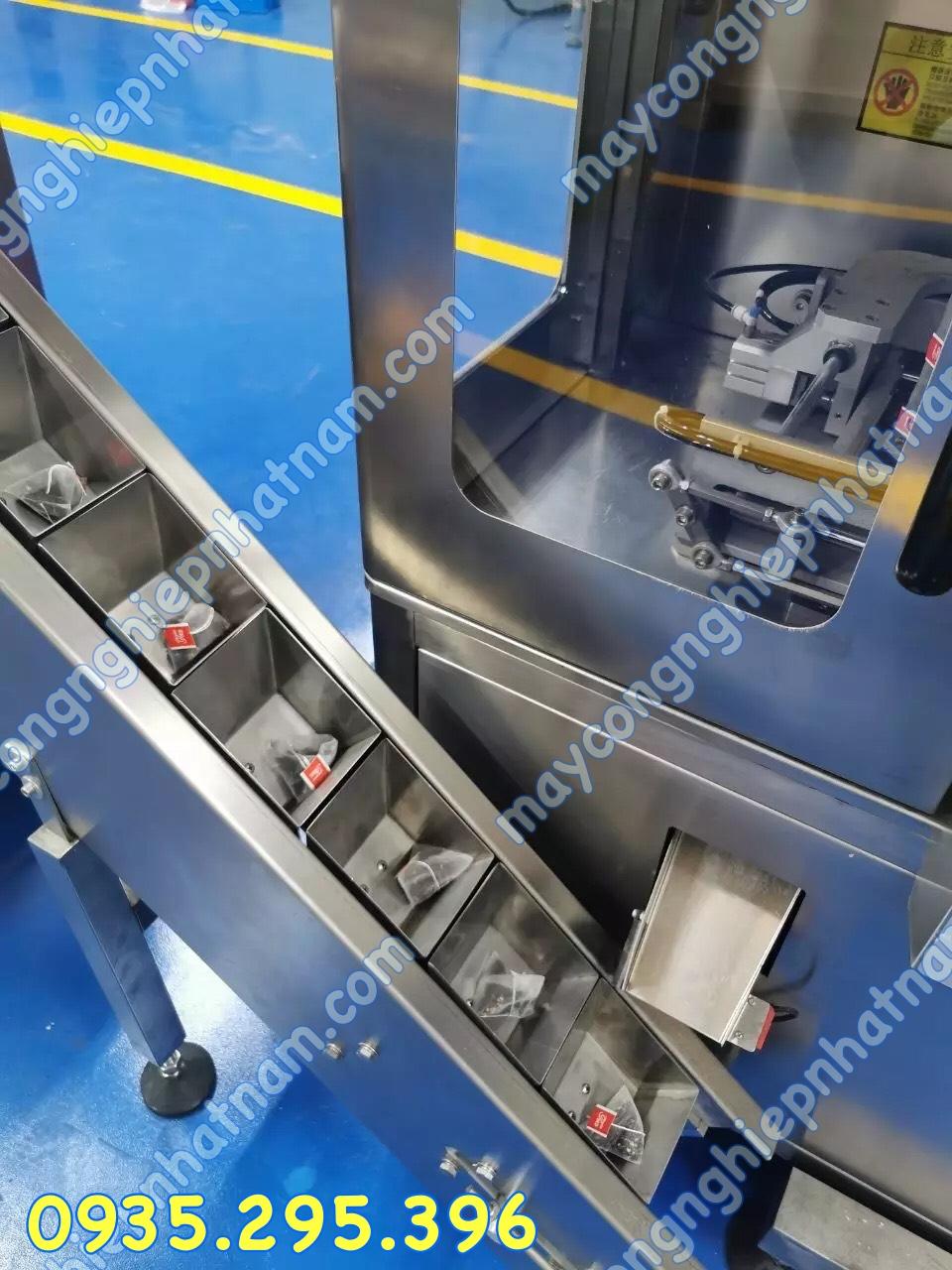 Máy đóng gói túi lọc 2 lớp hàn siêu âm 3