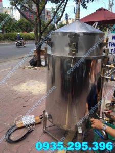 Nồi nấu rượu 100kg giá rẻ - chất lượng cao - bảo hành chu đáo !